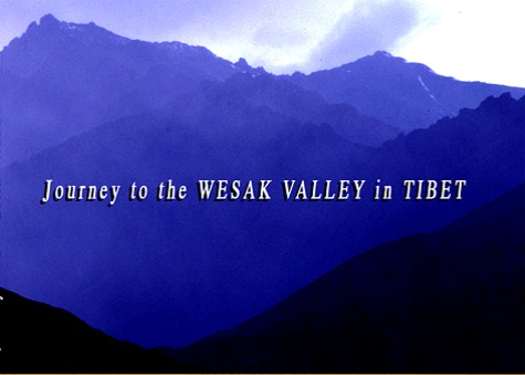 Mount Kailas - entrance to the Wesak Valley